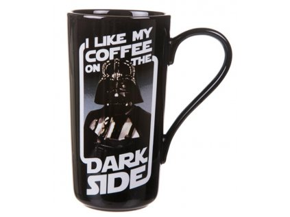 HRNEK LATTE|STAR WARS  500 ml|DARTH VADER|ČERNÝ