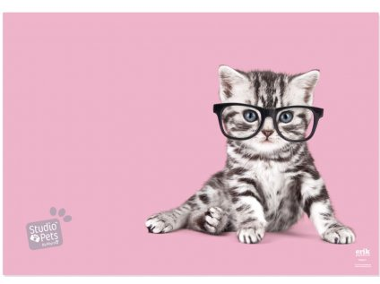 PODLOŽKA NA STŮL STUDIO PETS  CAT 49,5 x 34,5 cm