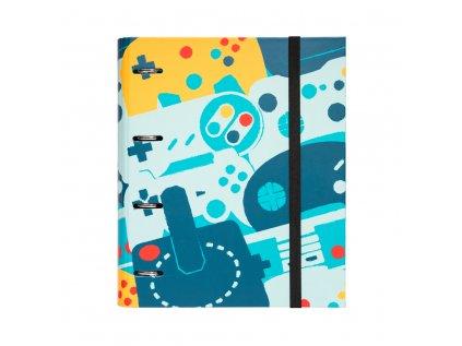 KROUŽKOVÝ POŘADAČ|GAMER  PREMIUM|28 x 32 x 7 cm