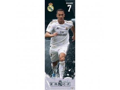 PLAKÁT 53 x 158 cm|REAL MADRID FC  HAZARD|2019/2020