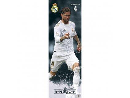 PLAKÁT 53 x 158 cm|REAL MADRID FC  SERGEI SAMOS|2019/2020