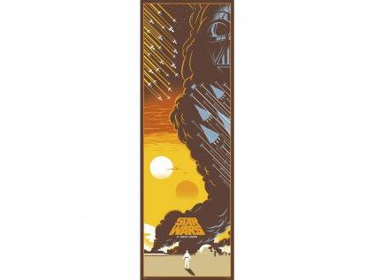 PLAKÁT 53 x 158 cm|STAR WARS  EPISODE IV
