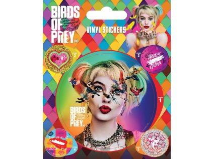 SAMOLEPKY|SET 5 KUSŮ|DC COMICS  BIRDS OF PREY|SEEING STARS
