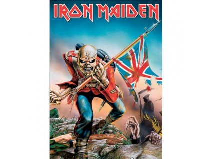 POHLEDNICE IRON MAIDEN  THE TROOPE