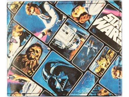 PENĚŽENKA OTEVÍRACÍ|STAR WARS  CHARACTERS|10 x 9 cm