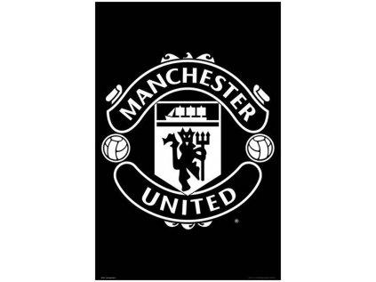 PLAKÁT 61 x 91,5 cm|MAN UNITED FC  ZNAK|2017-2018 (C)
