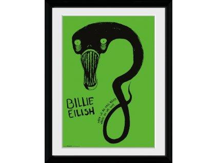PLAKÁT V RÁMU 30 x 40 cm  BILLIE EILISH|GHOUL