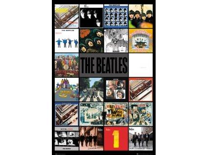 PLAKÁT 61 x 91,5 cm THE BEATLES  ALBUMS