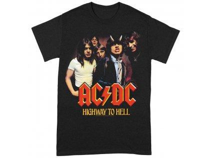 TRIČKO DĚTSKÉ|AC/DC  HIGHWAY TO HELL|ČERNÉ