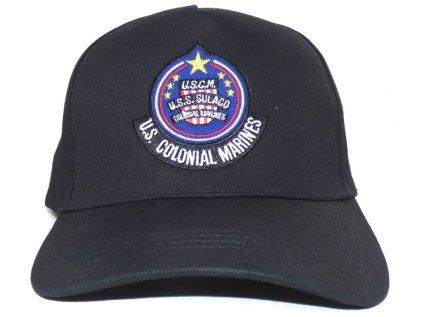 ČEPICE BASEBALLOVÁ|KŠILTOVKA  ALIEN|USS SOLACO BADGE