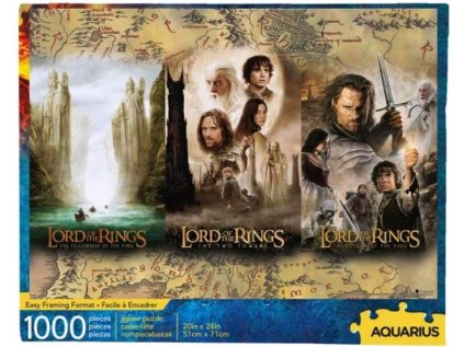 PUZZLE|LORD OF THE RINGS  1000 KUSŮ|TRIPTYCH