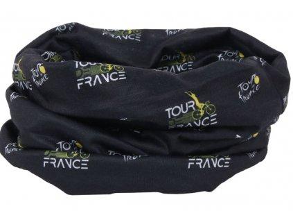 ŠÁTEK NA HLAVU TOUR DE FRANCE  ICONS 50 x 25 cm