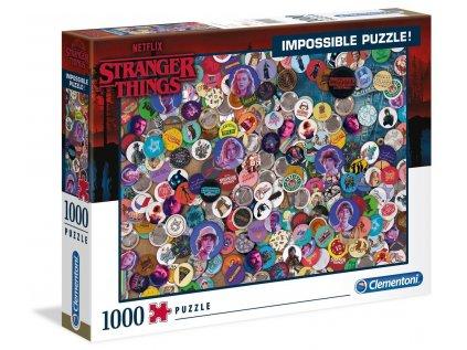 PUZZLE|NETFLIX|STRANGER THINGS  BADGES|1000 KUSŮ
