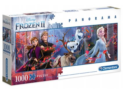 PUZZLE|DISNEY|FROZEN II  CHARACTERS|PANORAMA|1000 KUSŮ
