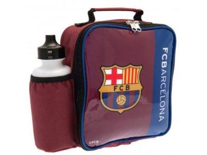 BOX NA SVAČINU|BARCELONA FC  LOGO|SET S LÁHVÍ 500 ml