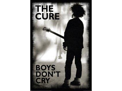 PLAKÁT 61 x 91,5 cm THE CURE  BOYS DON'T CRY