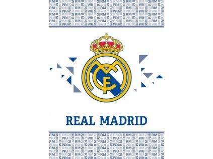 DEKA FLEECE|REAL MADRID FC  LOGO|110 x 140 cm