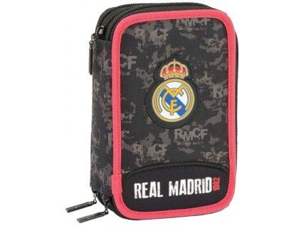 POUZDRO ŠKOLNÍ REAL MADRID FC  TROJDÍLNÉ 057 11924 41 POLOŽEK