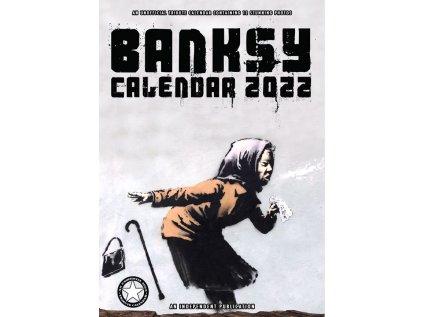 KALENDÁŘ 2022 ART  BANKSY (29,7 x 42 cm) A3