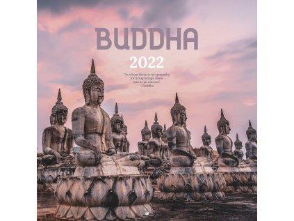 KALENDÁŘ 2022|CESTOVÁNÍ  THE BUDDHA (30 x 30|60 cm) SQ 16M