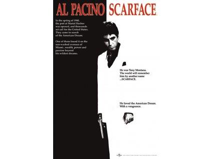 PLAKÁT 61 x 91,5 cm SCARFACE  AL PACINO ONE SHEET