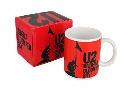 HRNEK KERAMICKÝ|U2  UNDER A BLOOD RED SKY|320 ml