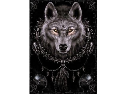 PLAKÁT 61 x 91,5 cm SPIRAL  WOLF DREAMS