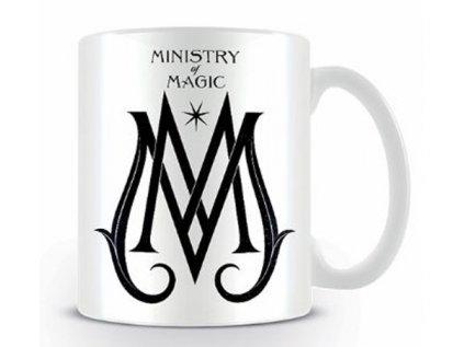 HRNEK KERAMICKÝ|FANTASTIC BEASTS  315 ml|MINISTRY OF MAGIC|BÍLÝ