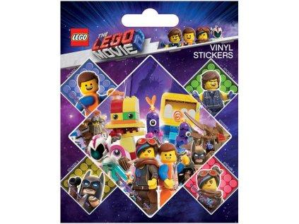 SAMOLEPKY|SET 5 KUSŮ|LEGO MOVIE  LET'S STICK TOGETHER (10 x 12,5 cm)