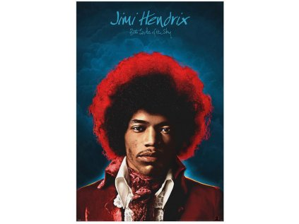 PLAKÁT 61 x 91,5 cm|HENDRIX JIMI  BOTH SIDES OF THE SKY