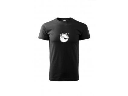 Tričko pánské unisex černé