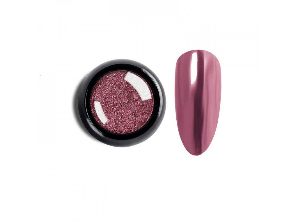 1012 cutenails lestici pigment chromatic mirror effect light pink