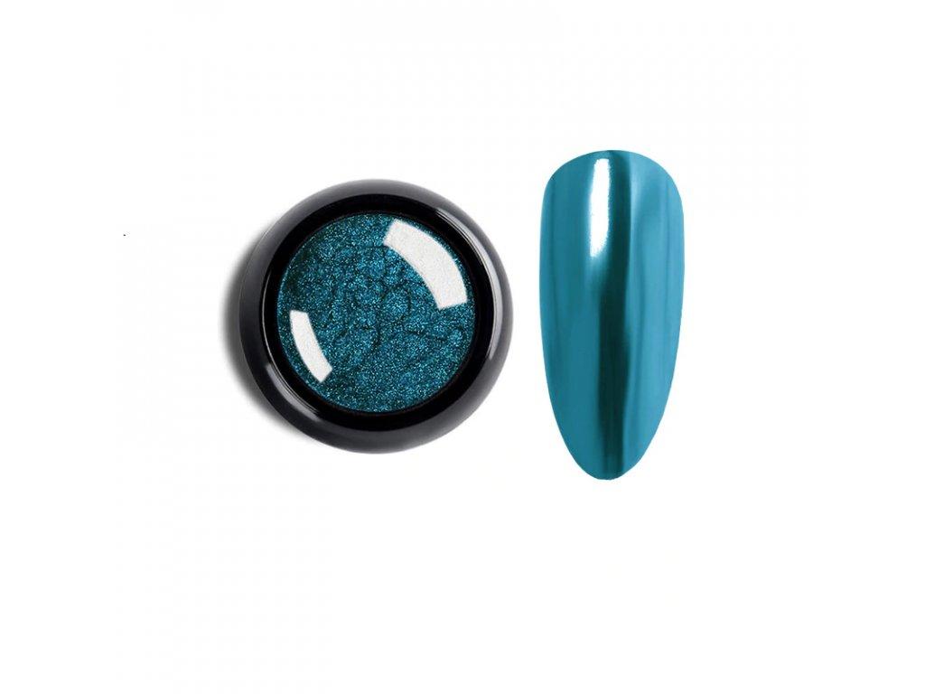 1033 cutenails lestici pigment chromatic mirror effect sky blue