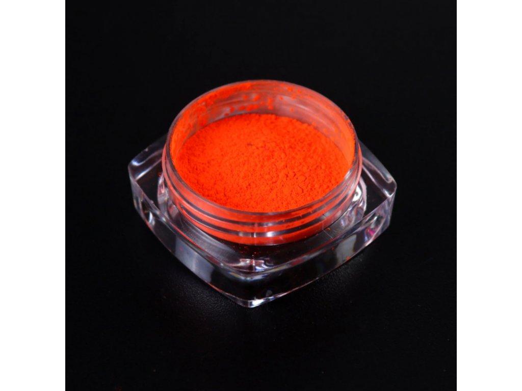 1519 cutenails neonovy pigment oranzova