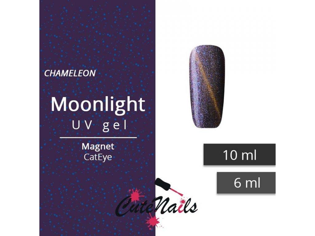 151 slygos magneticky uv gel 10ml cat eye moonlight