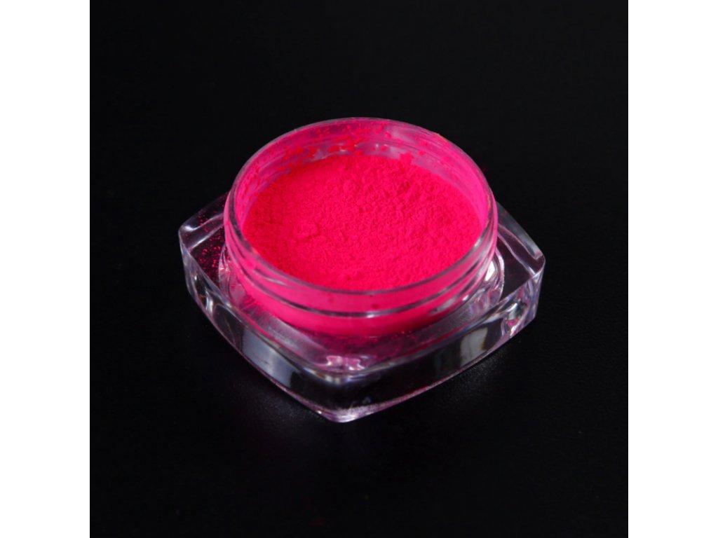 1528 cutenails neonovy pigment ruzova