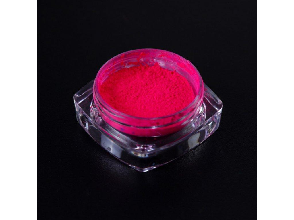 1531 cutenails neonovy pigment tmava ruzova