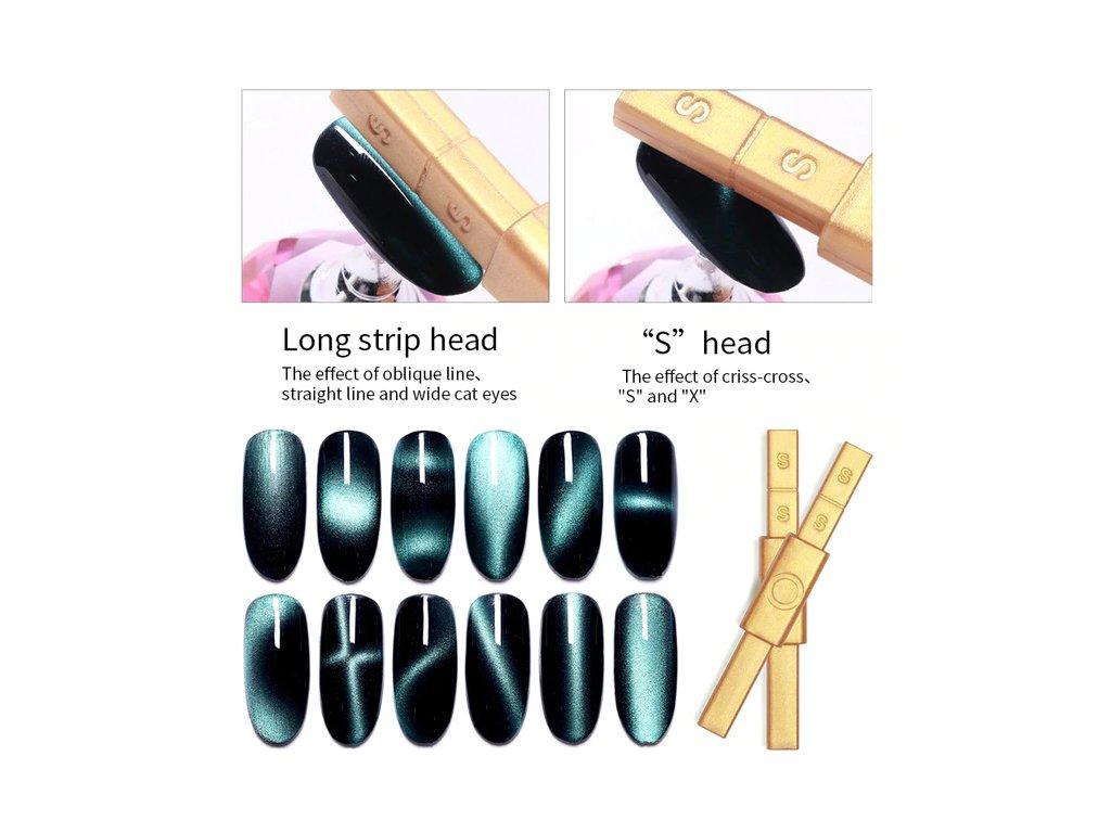 157 cutenails magnet pro cat eye efekt zlaty