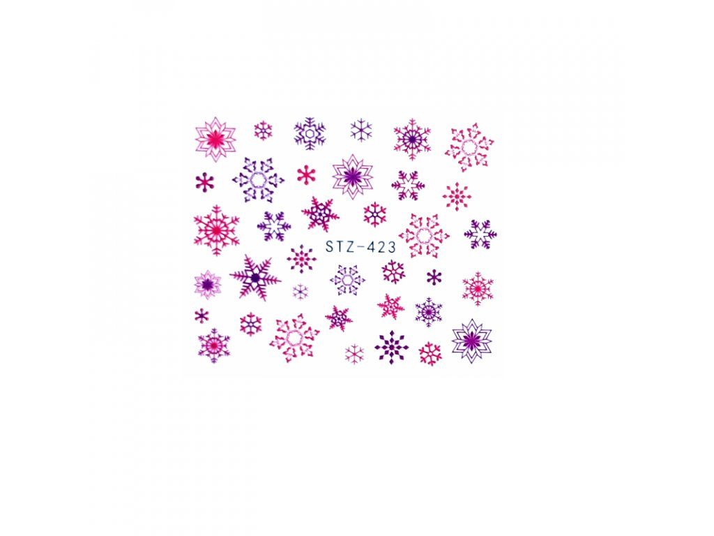 1621 cutenails vodolepky fialove vlocky