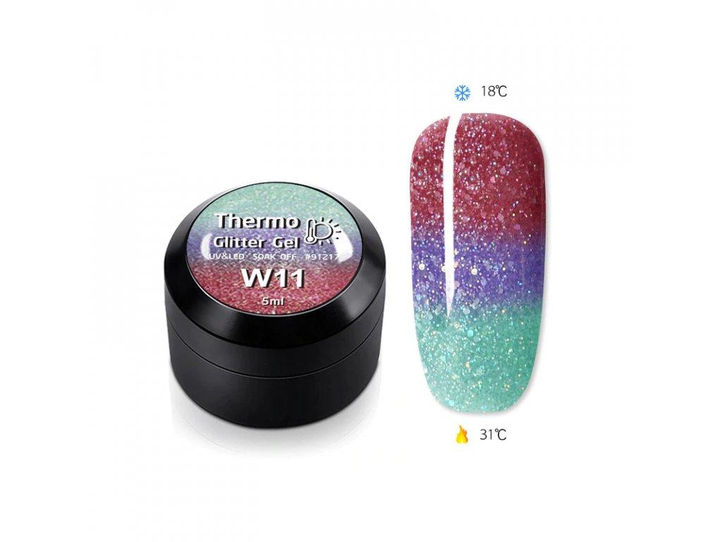 1846 gdcoco uv glitter thermo gel glitter of mermaid