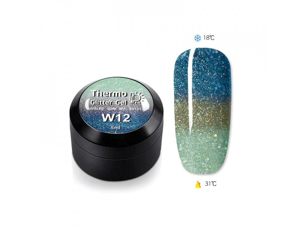 1849 gdcoco uv glitter thermo gel glitter of marine