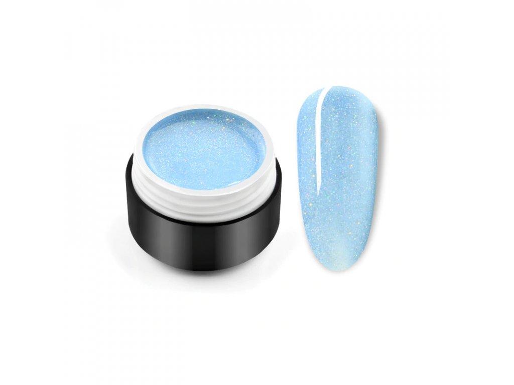 2098 gdcoco u 08 uv gel black seashell blue black seashell