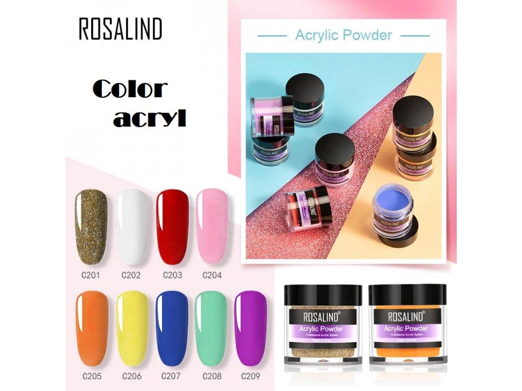 2263 rosalind barevny akrylovy prasek