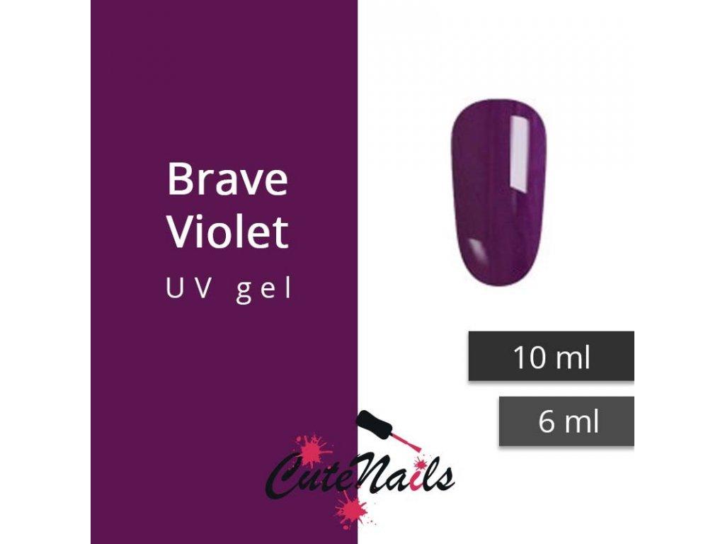 229 slygos uv gel brave violet 6 ml