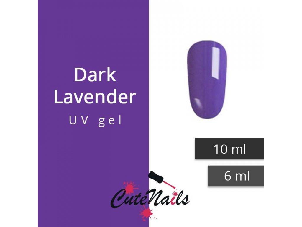 232 slygos uv gel dark lavender 6 ml