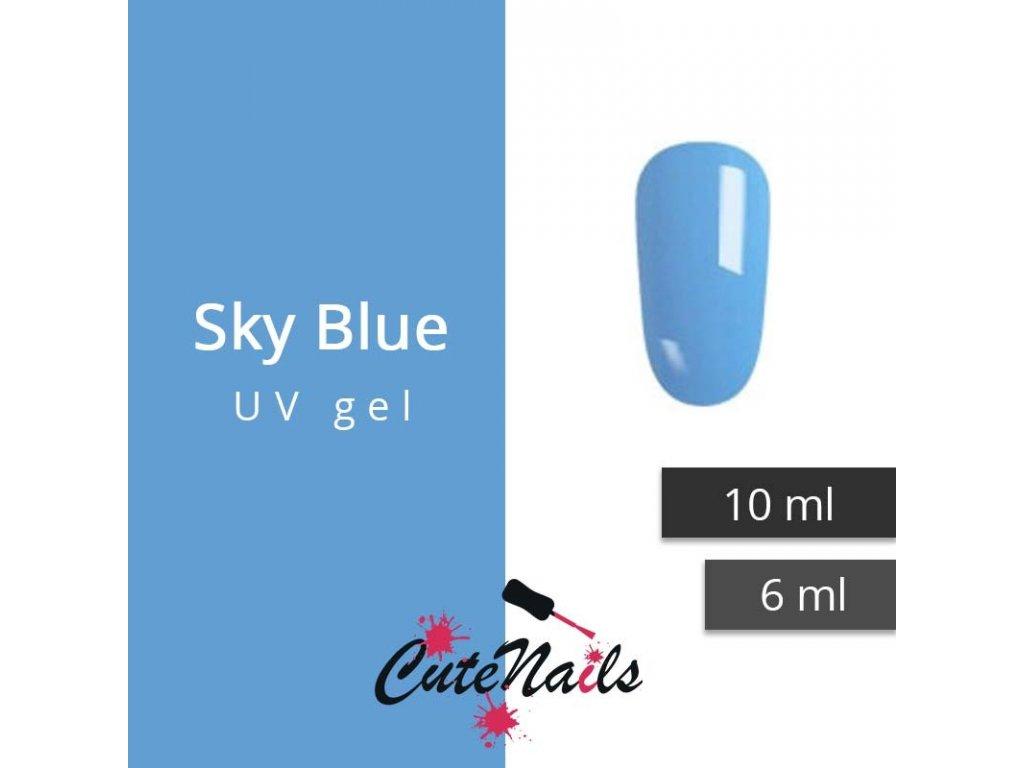 238 slygos uv gel sky blue 10 ml