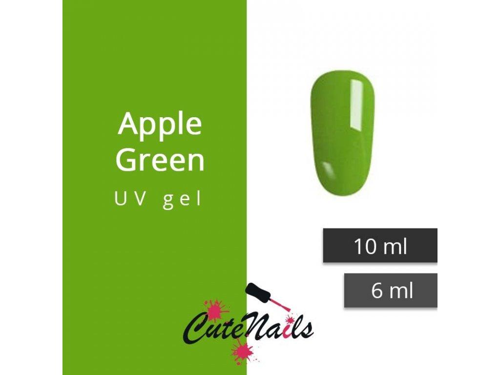250 slygos uv gel apple green