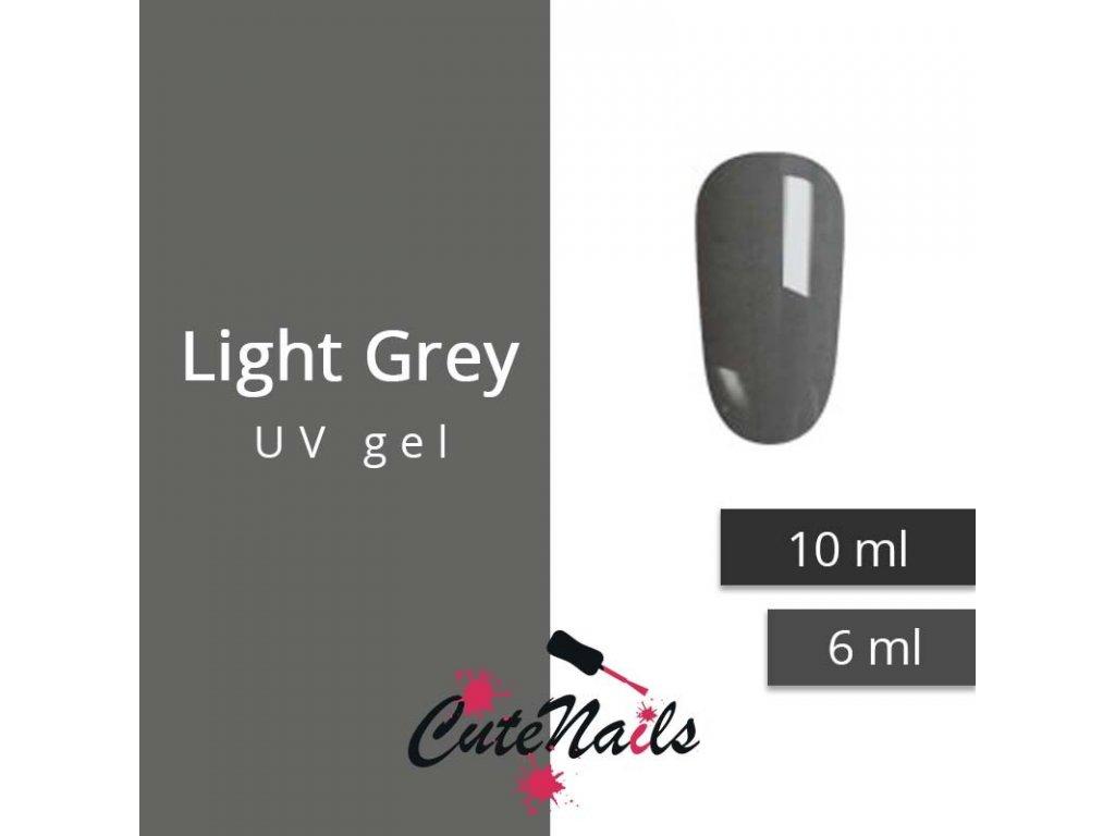 265 slygos uv gel light grey 6 ml