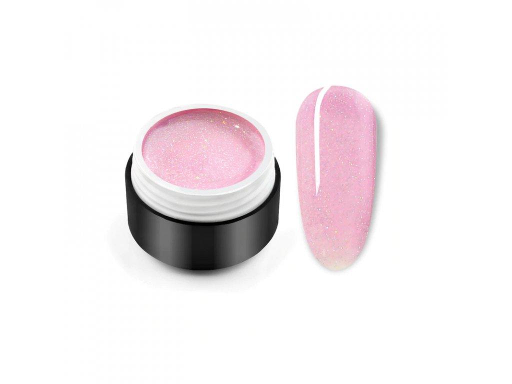 UV gel Black Seashell: Pink Black Seashell
