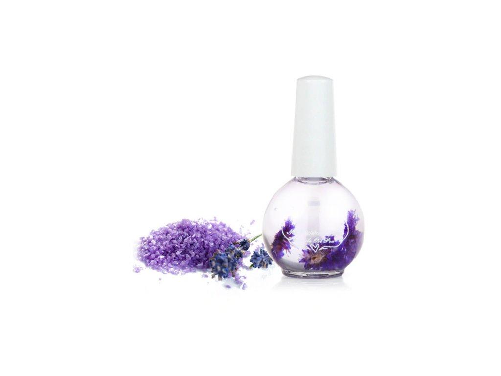 Olejíček na nehty 15 ml - Levandulová sůl